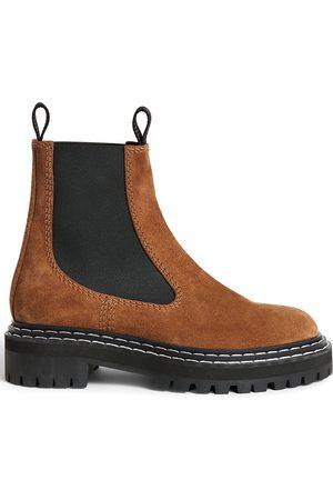 Proenza Schouler Chelsea-Boots mit Kontrastnaht