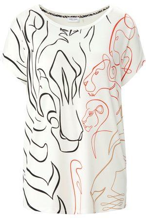 Gerry Weber Damen Shirts - Rundhals-Shirt weiss