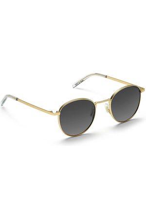 Take A Shot Arin Gold Sunglasses