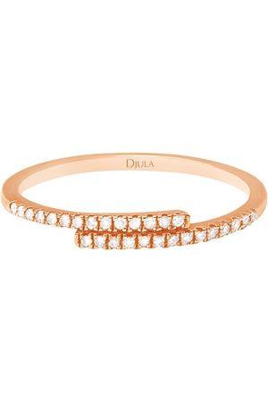 DJULA Damen Ringe - Verlobungsring - Du und ich