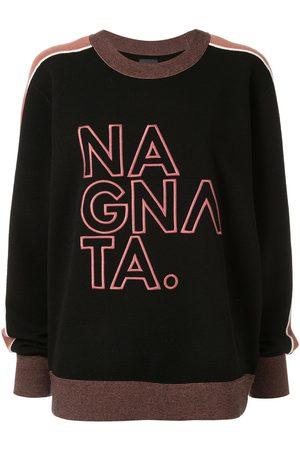 Nagnata Damen Shirts - Pullover mit Logo-Stickerei