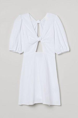 H&M Damen Freizeitkleider - Baumwollkleid