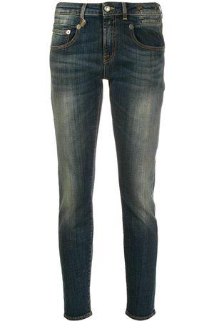 R13 Damen Baggy & Boyfriend - Boyfriend-Jeans