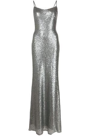Marchesa Notte Damen Kleider - Schmales Abendkleid mit Pailletten