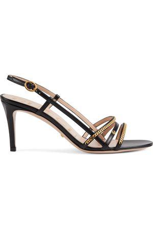 Gucci Damen Sandalen - Damensandale mit Kettendetails