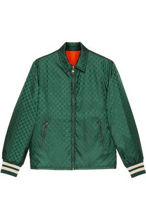 Gucci Herren Jacken - Wendbare Jacke aus GG Nylonjacquard