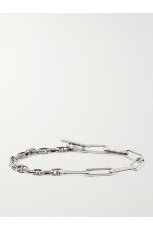 M. COHEN Herren Armbänder - Duo Linka Burnished Sterling Chain Bracelet