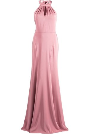 Marchesa Notte Damen Kleider - Bodenlange Robe mit Schlüssellochausschnitt