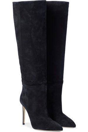 Paris Texas Stiefel aus Veloursleder