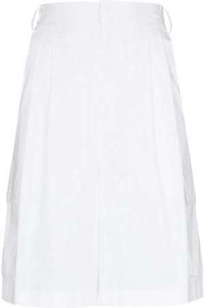 tibi High-rise tailored shorts