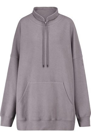 alo Damen Shirts - Sweatshirt Tranquil aus Fleece