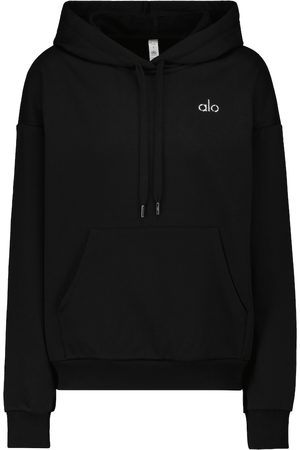 alo Hoodie Accolade aus Jersey