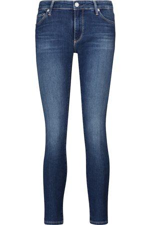 AG Jeans Damen High Waisted - Mid-Rise Skinny Jeans Legging Ankle