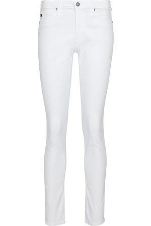 AG Jeans Damen High Waisted - Mid-Rise Skinny Jeans Prima