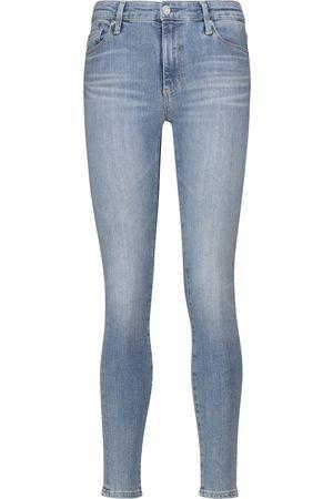 AG Jeans Skinny Jeans Farrah Ankle Seamless