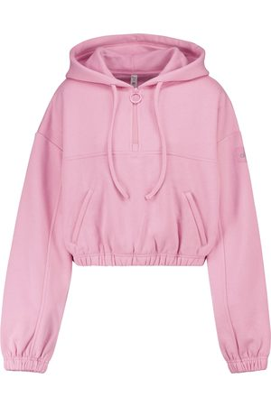 alo Damen Sweatshirts - Cropped Hoodie Refresh