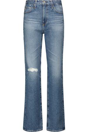AG Jeans Damen Straight - Straight Jeans Alexxis Vintage