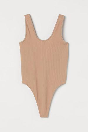 H&M Damen Bodys - Seamless Body