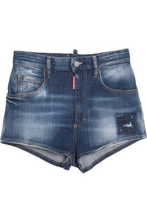 Dsquared2 Damen Shorts - DENIM - Jeansshorts - on YOOX.com