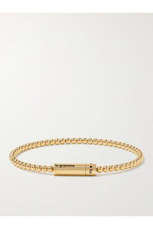 LE GRAMME Herren Armbänder - Le 15 18-Karat Beaded Bracelet