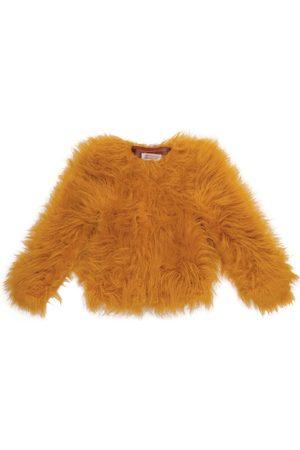 The Animals Observatory Mädchen Jacken - Jacke Shrew aus Faux Fur
