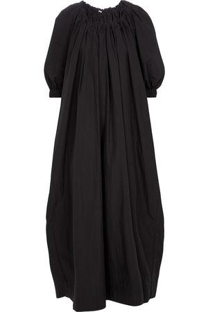 CO Damen Lange Kleider - Maxikleid aus einem Baumwollgemisch