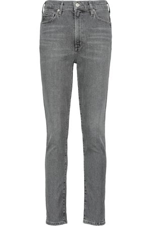 Citizens of Humanity High-Rise Slim Cropped Jeans Olivia