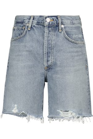 Citizens of Humanity High-Rise Jeansshorts Camilla