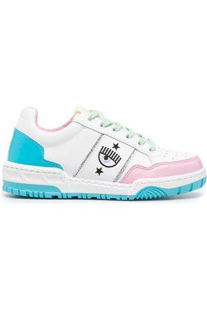 Chiara Ferragni Sneakers mit Logo-Stickerei