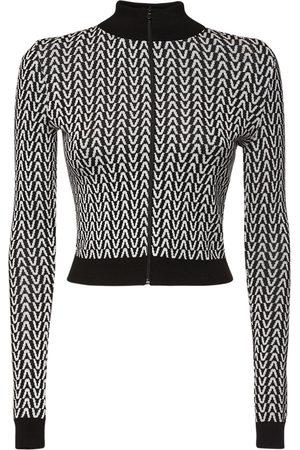 VALENTINO Sweatshirt Aus Wolljacquard