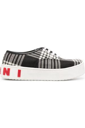 Marni Herren Sneakers - Sneakers mit Karomuster