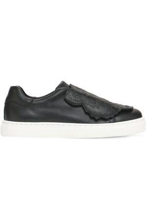 "Kenzo Mädchen Sneakers - Riemensneakers Aus Leder ""tiger"""