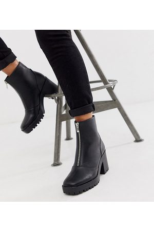 Raid – Janella – Exklusive Stiefel in mit dicker Sohle und Reißverschluss vorne