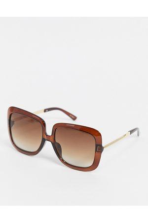 Jeepers Peepers – Eckige Sonnenbrille für Damen in