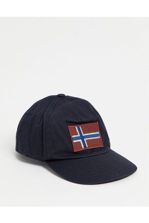 Napapijri Damen Caps - – Fontan – Schwarze Kappe