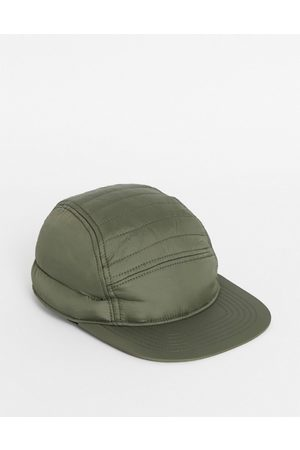 ASOS Herren Caps - – Gepolsterte Snapback-Kappe in Khaki