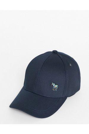 Paul Smith Herren Hüte - – Baseballkappe mit Zebra-Logo in Marine-Marineblau