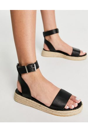 Schuh Damen Espadrilles - – Victoria – Espadrilles-Sandalen in mit durchgehender Plateausohle
