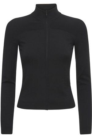 VALENTINO Sweatshirt Aus Wollstrick