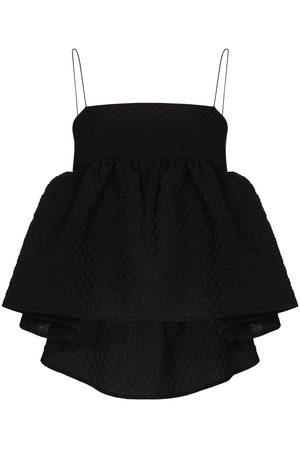 Cecilie Bahnsen Damen Oberbekleidung - Selena ruffled textured top