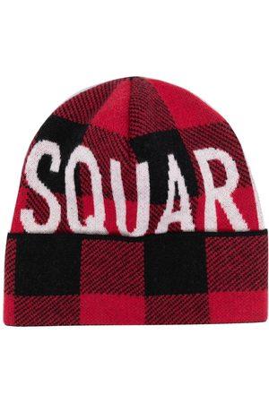 Dsquared2 Mütze mit Intarsien-Logo