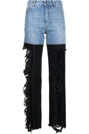 Peter Do Damen Straight - Gerade Combo High-Rise-Jeans