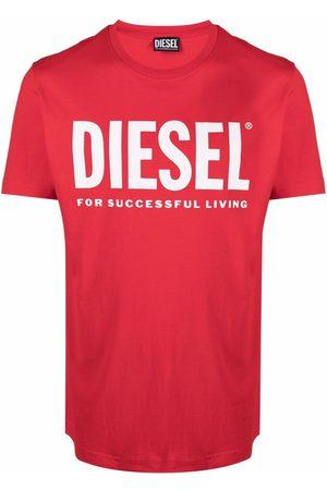 Diesel Green Label T-Shirt mit Logo-Print