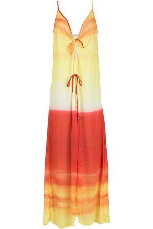 AMIR SLAMA Strandkleid mit Ombré-Effekt