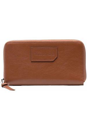 Billionaire Zip-up leather wallet