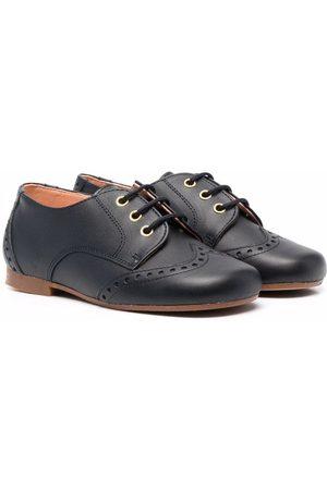 CLARYS Jungen Halbschuhe - Derby-Schuhe mit Prägung