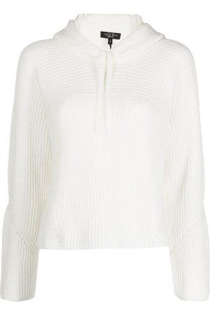 RAG&BONE Damen Sweatshirts - Sunny Hoodie aus geripptem Strick