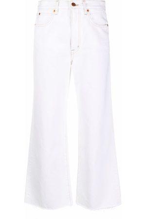 SLVRLAKE Weite High-Rise-Jeans