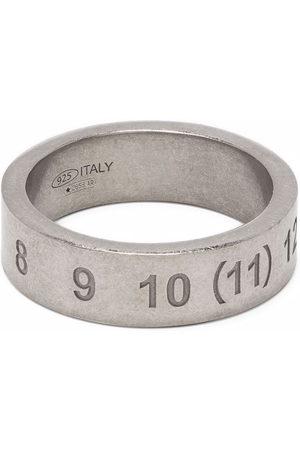 Maison Margiela Herren Ringe - Ring mit eingravierten Nummern