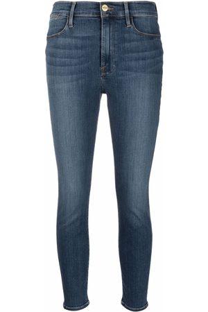 Frame Le High Skinny-Jeans
